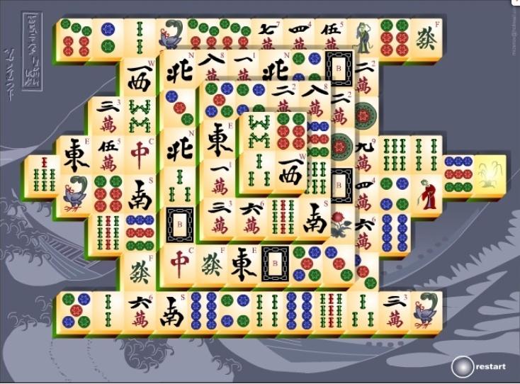 mahjong connect full screen