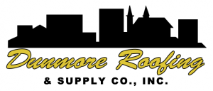 Nice Citizens Savings Bank · Dunmore Roofing Logo