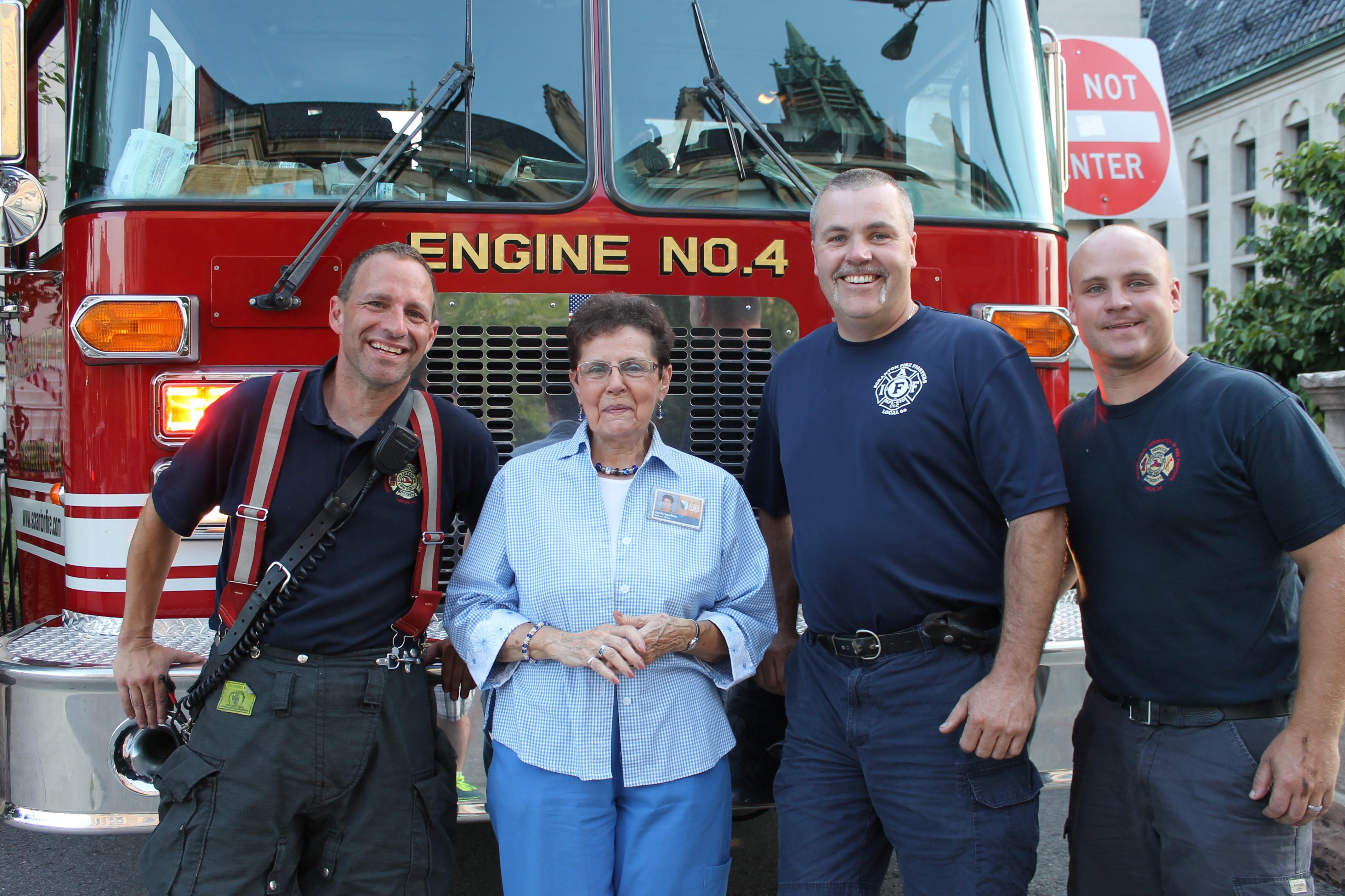 Here Comes A Fire Truck: Scranton Fire Dept. Visit! @ Lackawanna County Children's Library | Scranton | Pennsylvania | United States