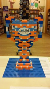 LCLS LEGO Build-Off Trophy created by Joel Gardoski