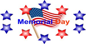 Spend Memorial Day with us