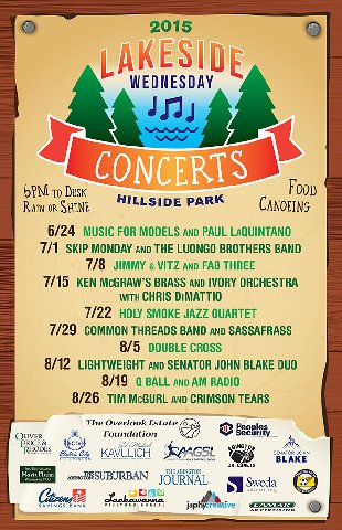 Hillside Parks Concert