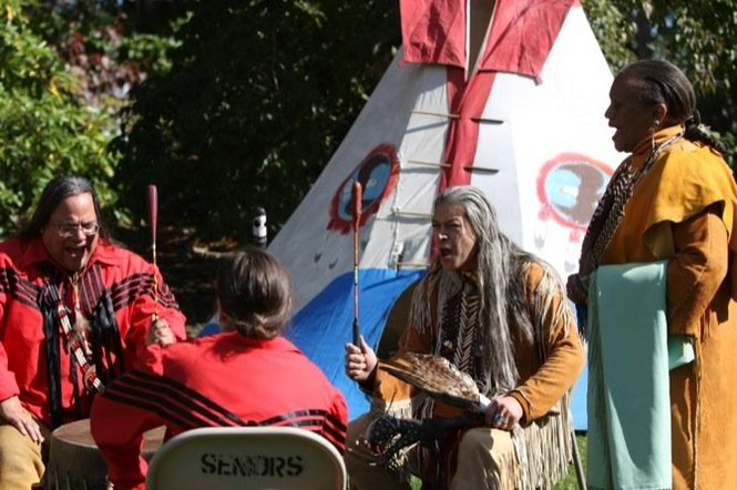 Authentic American Indian Pow Wow on Wednesday, July 15