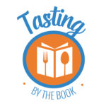tasting-by-the-book logo by Cody Mix Keen Bean Design
