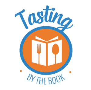 tasting-by-the-book-transparent logo by Cody Mix Keen Been Design