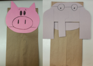 Elephant and Piggie Paperbag Puppets @ Carbondale Public Library | Carbondale | Pennsylvania | United States