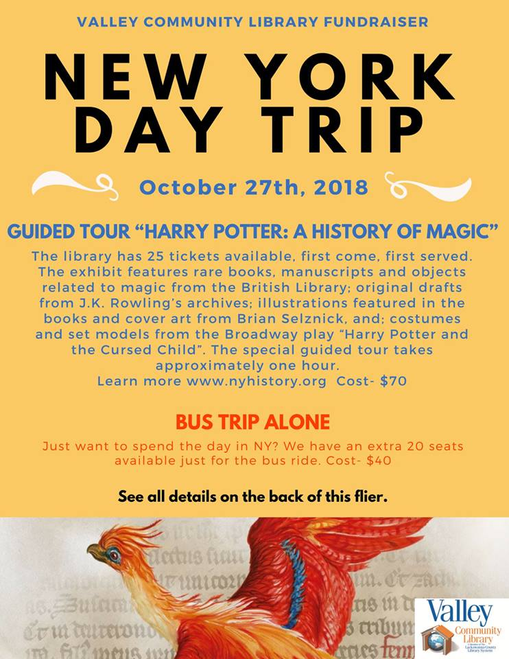 New York Day Trip @ Valley Community Library | Blakely | Pennsylvania | United States