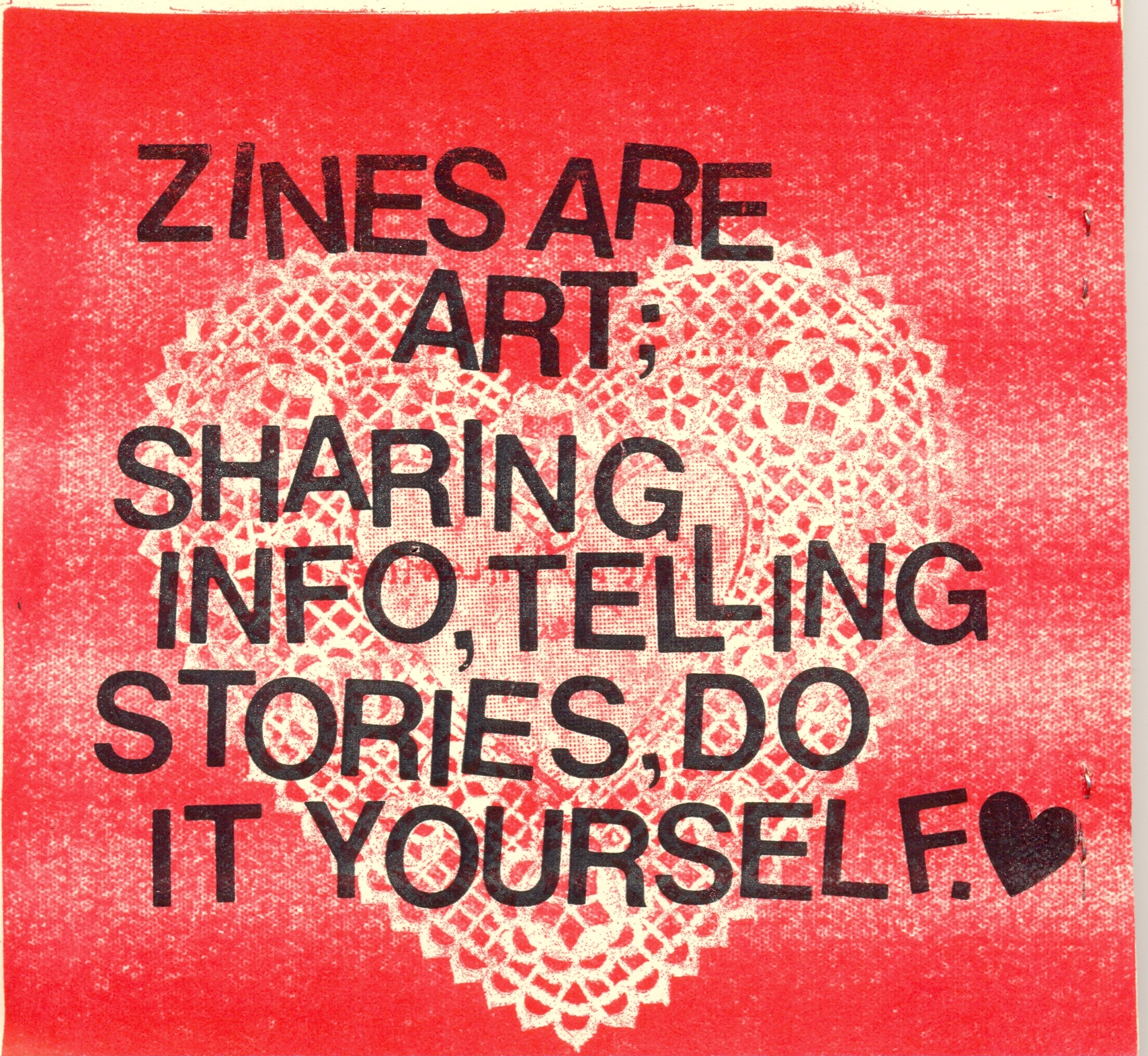 Zine Workshop for Adults @ Abington Community Library | Clarks Summit | Pennsylvania | United States