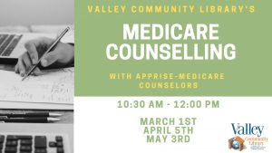 Medicare Questions with Apprise @ Valley Community Library | Blakely | Pennsylvania | United States