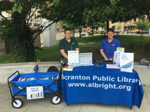 Scranton's Pop-Up Library @ Co-Op Farmer's Market | Scranton | Pennsylvania | United States