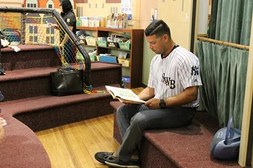 SWB RailRider Player Visit @ Lackawanna County Children's Library | Scranton | Pennsylvania | United States