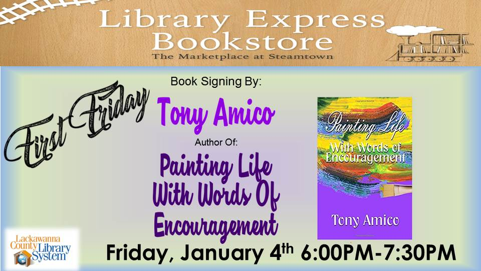 First Friday: Tony Amico