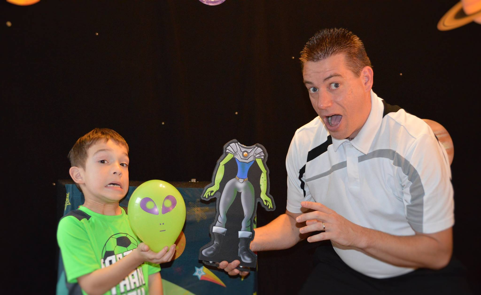 Second Sunday with Friends: Out of this World Magic Show