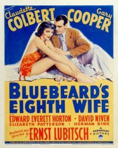 Classic Movie Night: Bluebeard's Eighth Wife @ Scranton Public Library