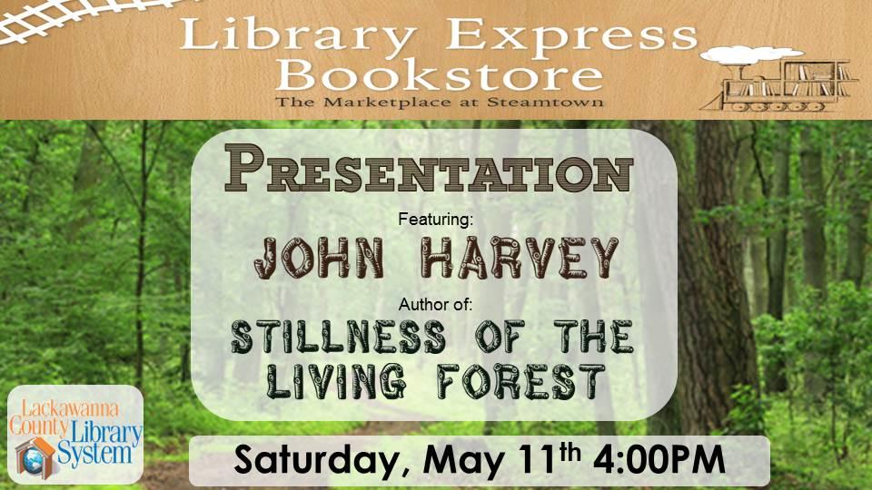 Presentation by John Harvey