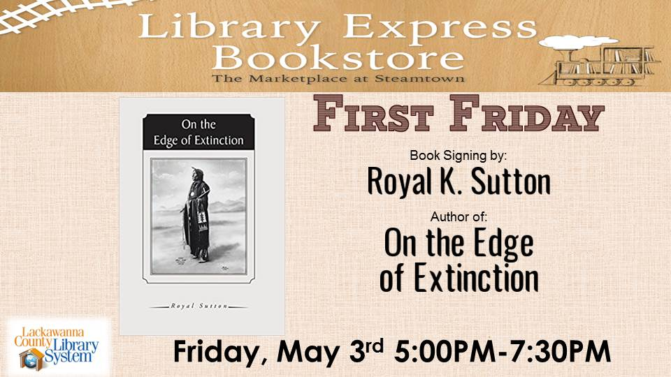 First Friday: Book Signing with Royal K. Sutton