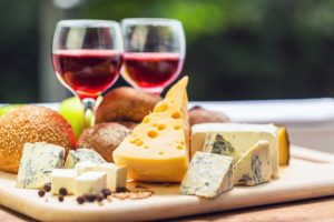 Wine & Cheese Gathering @ North Pocono Public Library